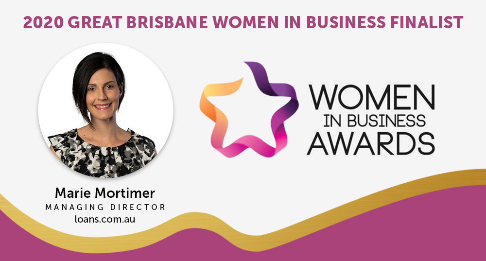 Marie Mortimer nominated for 2020 Greater Brisbane Women in Business Awards